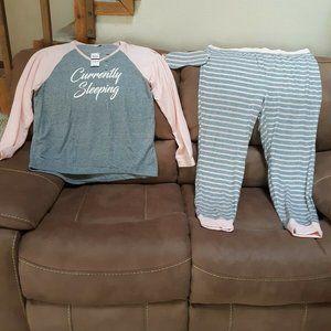 Jenni 2X 3 Piece Pajama Set-New